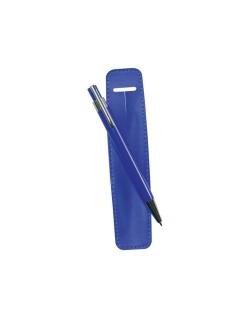 Bolígrafo metálico funda polipiel