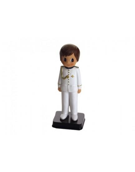 Figura niño traje blanco