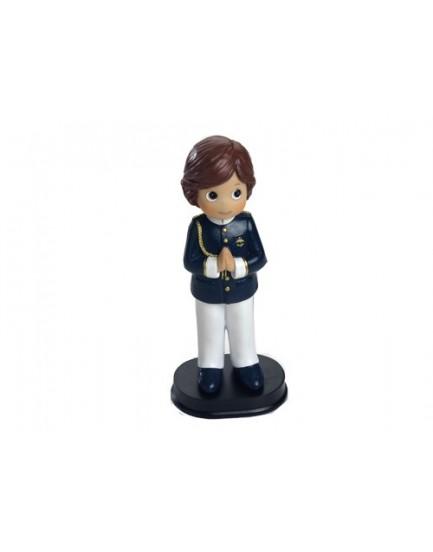 Figura niño almirante casaca azul