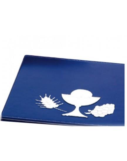 Libro de firmas azul