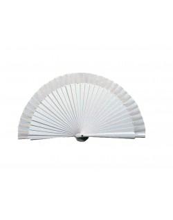 Abanico Blanco 19 cm
