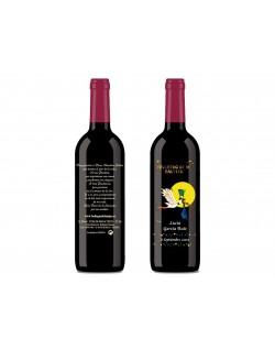 Botella de vino personalizada
