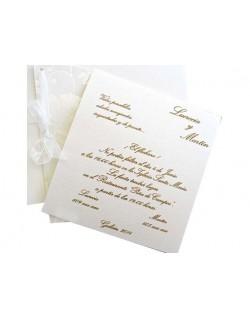 Invitación camelias