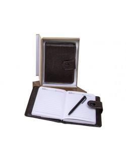 Libreta de notas con caja