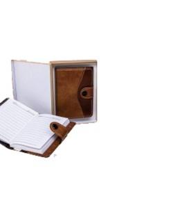 Libreta en caja
