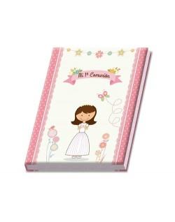 Libro niña con maletín