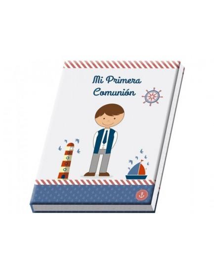 Libro niño con maletín