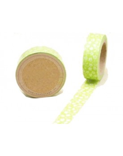 Washi tape verde
