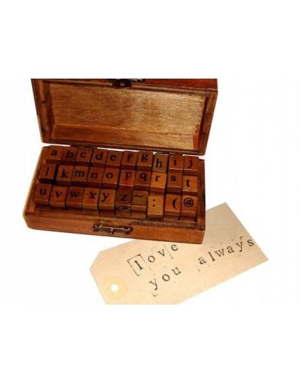 Caja alfabeto