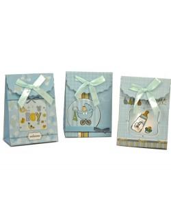 Bolsa bebé azul