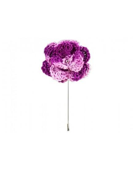 Alfiler Flor de croché