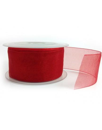 Lazo ancho rojo