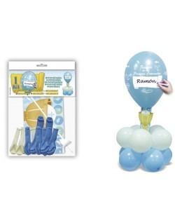 kit comunión Azul