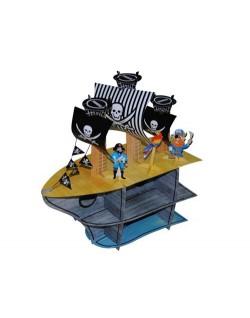 Expositor cupcakes Pirata
