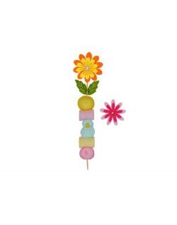 Brocheta flor de fieltro
