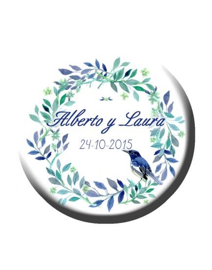 A35. Abridor Pájaro azul