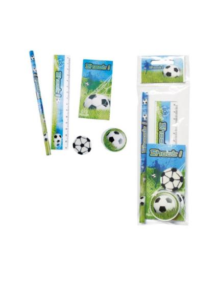 Set papelería fútbol