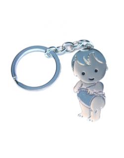 Llavero bebé metal