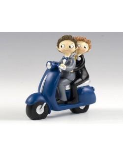 Figurta Boys en moto