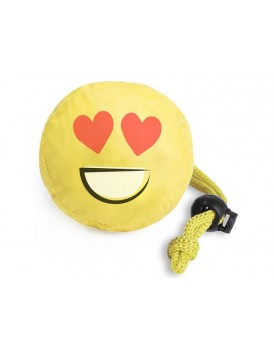 Bolsa plegable emoticonos