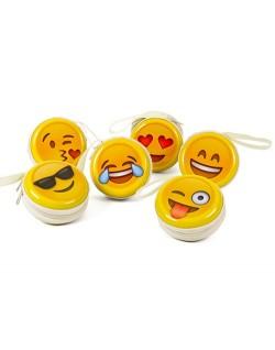 Monedero cremallera emoticonos