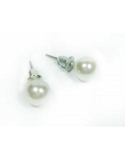 Pendientes perla pequeños