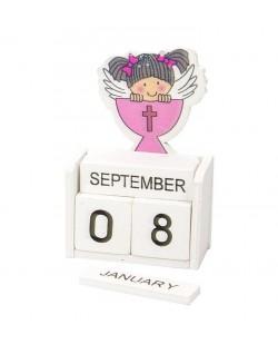 Calendario comunión niña