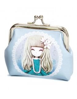 Monedero muñeca