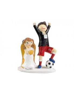 Figura Novios Fútbol