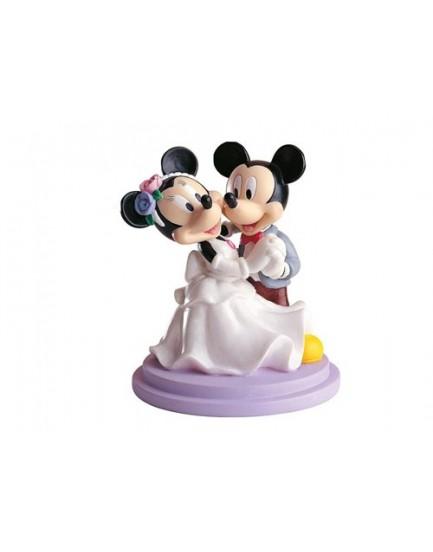 Figura Novios Mickey y Minnie Bailando