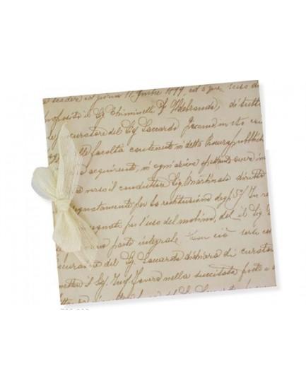 Libro de Firmas Manuscrito