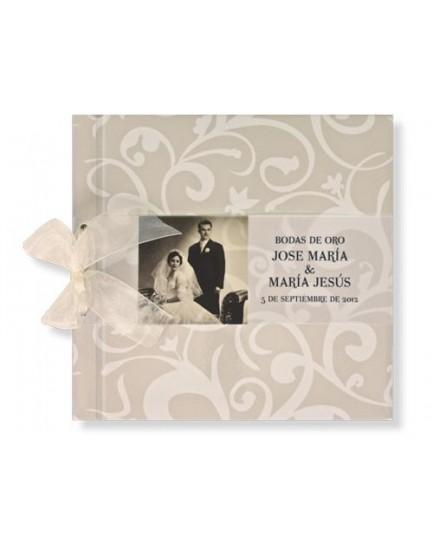 Libro Filigrana Crema con Foto