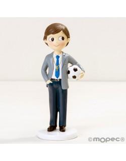 Figura niño con balón