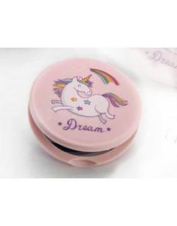 Espejo doble unicornio