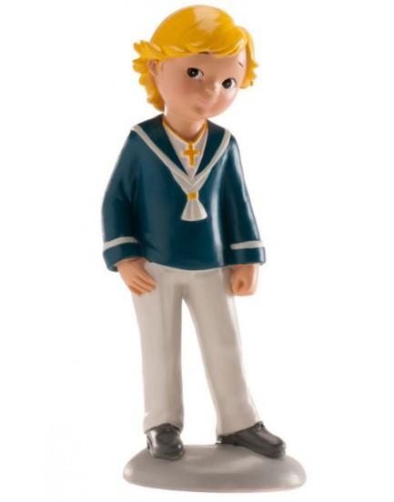 Figura niño marinero rubio