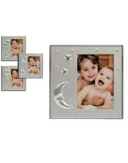 Portafotos Baby Plateado