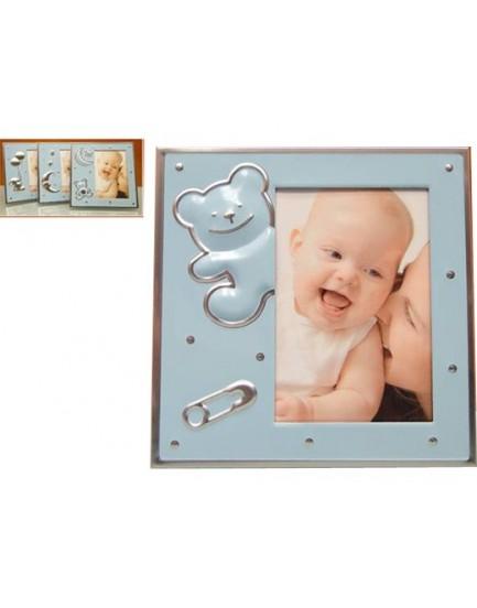 Portafotos Baby Azul